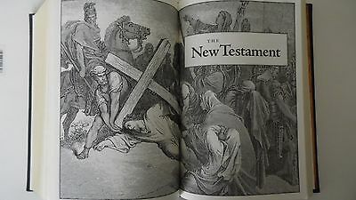 The Holy Bible King James Version Gustave Dore Illustrated Leather Bound  SALE 6