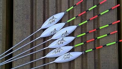 6 x New RF91 Rizov Hand Made Paste Pole Floats
