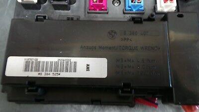 1Y111-033 BMW X5 E53 Sicherungskasten Relaisträger Fusebox 8380409 on