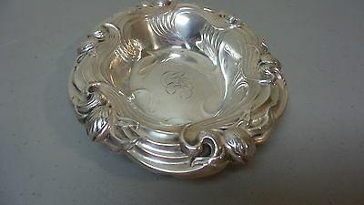 """Lovely Whiting Mfg. Co. Sterling Silver Art Nouveau Period 7"""" Dish 5"""