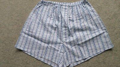 fffc959aa4 ... 2 x Herren Schlafanzug kurz Shorty Knöpfe Eingriff gewebt Baumwolle Gr.46  NEU(4