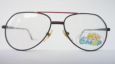 Fredo Kinderbrille Jungenbrille schwarz rot Federbügel preiswert günstig neu 2