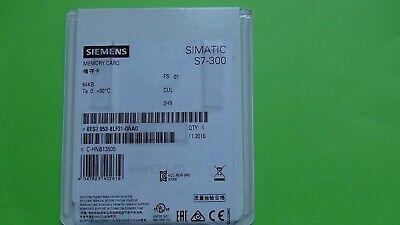 Siemens Simatic S7- 300 6Es7 953-8Lf31-0Aa0 ,   Memory Card 64Kb 2