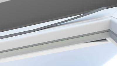 klebeleiste klebeschiene alu jalousie rollo plissee klebe montage ohne bohren eur 16 85. Black Bedroom Furniture Sets. Home Design Ideas