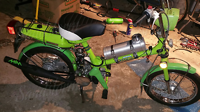 1//4 NPT Mini Bike 6x16 Center Fill Spun Aluminum Gas Tank  Go Kart 1.6 Gal