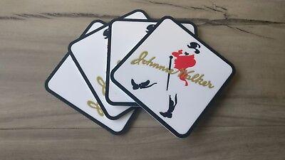 Set of 4 XXXX Man pvc rubber Drink Coasters bar mat runner