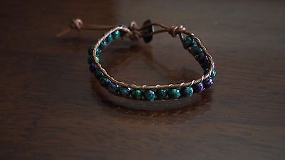 Ruby Zoisite Natural Crystal Beaded Bracelet Medley Positive Healing Ideal Gift 5
