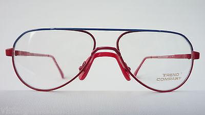 Trend Company Kinderbrille unisex blau rot Federbügel preiswert günstig neu 2