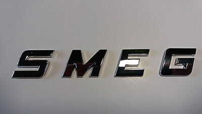 NEW GOOD QUALITY SMEG word / letters, 3D CHROME / SILVER, Self Adhesive. 7