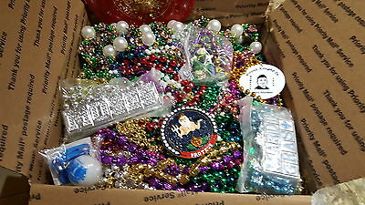Mardi Gras Beads Necklaces lot  Authentic New Orleans 14+ pounds assorted 5
