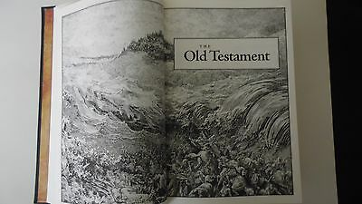 The Holy Bible King James Version Gustave Dore Illustrated Leather Bound  SALE 3