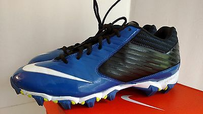 c0cff42f9 ... 3 of 10 NIKE Men s blue Vapor Shark Football Cleats  643162 014 Sz 11.5  4