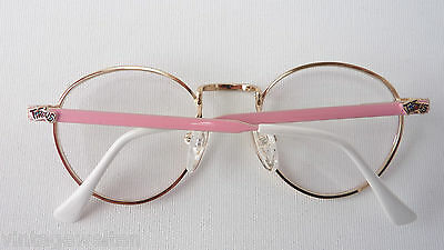 Tifous Pantobrille Metallfassung Kindergestell lunettes pink-gold GR:M 44-20 NEU 4