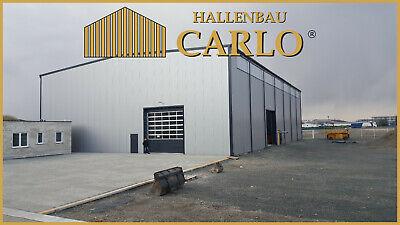 Hallenbauer Produktionshalle Werkstatt Gewerbehalle Stahlhalle 25x40x6 Halle 8