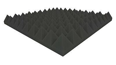 Pyramiden Schaumstoff 100x50x4cm Akustik Schaumstoff Schall Dämmung Öko Tex 100