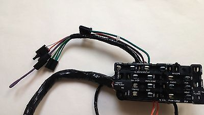 1969-1972 chevy pick up truck under dash wiring harness with gauges  1969 blazer 6