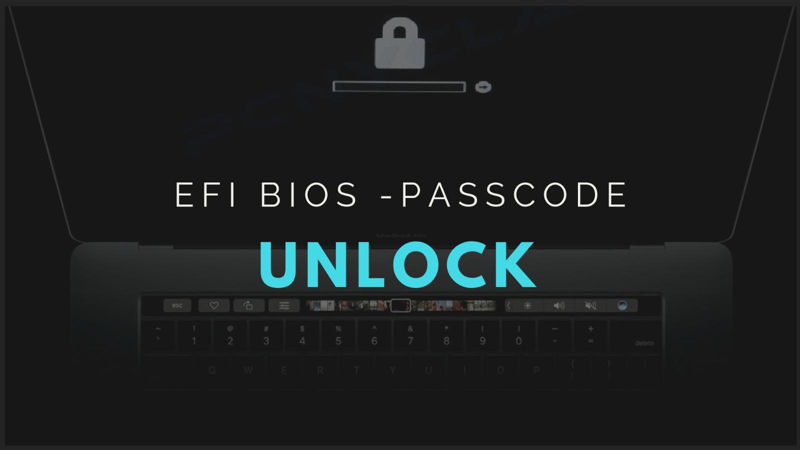 2008-2017 Macbook Air/Pro/Touchbar Efi Firmware Bios Unlock Reset 3