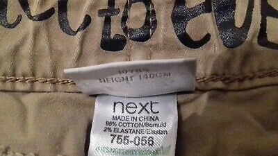 👖👖Nice Girls Cropped Trousers By Next Age 10 Good Condition 👖👖 6