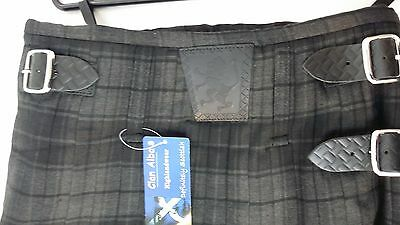 Grey Highlander 8Yd  Kilt Only Ex Hire £99 A1 Condition Large Stock But Hurry 2