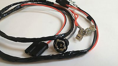1965 chevy impala ss console wiring harness manual 4spd 4 speed  transmission 3
