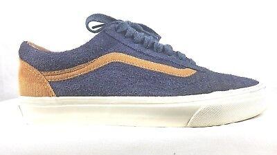 22c60ba9b7 ... VANS CUSTOMS ULTRACUSH - Old Skool Blue Suede Sneakers Mens Size 7  Skate Shoes 2