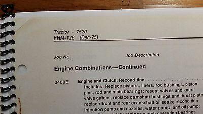 John deere 7520 tractor flat rate manual frm 126 376 1649 6 of 12 john deere 7520 tractor flat rate manual frm 126 376 fandeluxe Image collections