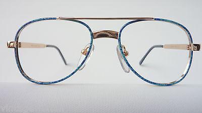 Meitzner Kinderbrille Jungenbrille 70er gold blau Pilot preiswert günstig neu 2