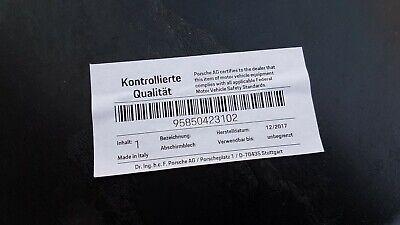 Original Porsche Cayenne 958 Abschirmblech Hitzeschutz Hinten 95850423102 4