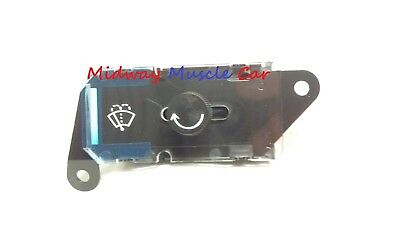 1978-83 Chevrolet GMC truck Windshield wiper switch with pulse