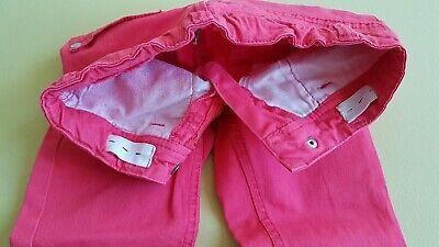 Topolino Lange Hose Mädchen 98 Rosa Weitenregulierung Jeanshose Stoffhose 3