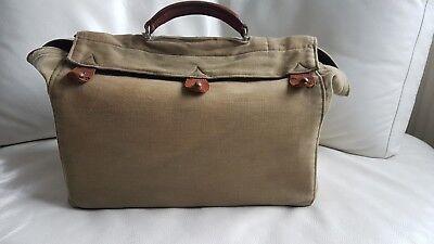 Antike alte Arzttasche aus Leder Nest Hofmann Carlsbad um 1920 orig.Schutztasche 6