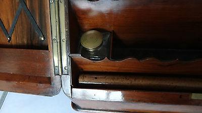 Antique 19Th Century Burr Walnut Stationery Box - Stylish & Original For A Loved 6