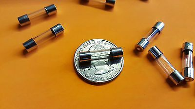 100pcs T5A T5000mA 5 A Square Miniature Micro fusible Slow Blow Fuse 250 V