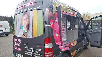 Eisverkaufswagen,Eisauto,Eismaschine,Bäckerwagen,Foodtruck,Eiscafe,Softeis 2