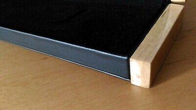 Leder-Im 1//2//5 Ketten Armband Schmuckschachtel Etui Schmuck Box Kästchen Holz
