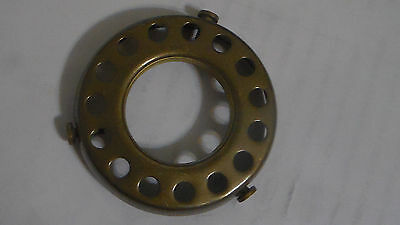 """NEW 2 1/4"""" Fitter Screw-on Uno-type Shade Holder Antique Finish Brass  #SHH86A 2"""