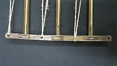 Antique Brass Art Deco Door Push Bars Set of Two