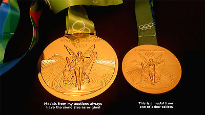 SEOUL 1988 Olympic Replica GOLD MEDAL 3