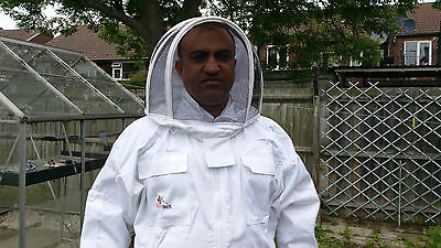 Beekeeping suit Beekeepers Bee Suit with Fencing Veil-All sizes UK Seller 4