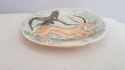 ceramic signed. céramique signée 3