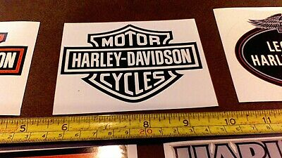 LOT of 10 Harley Davidson stickers for car truck Bike Helmet tool box Free Ship 5