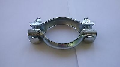Car Van Peugeot Citroen French Exhaust Clip Clamp 69mm 2 piece joiner ecmc69