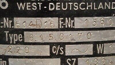 Kaltenbach & Voigt 614D16  Fußschalter  Schalter 8