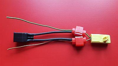 Peugeot Seitenairbag Airbag Deaktivierung Stecker Widerstand Gurtstraffer