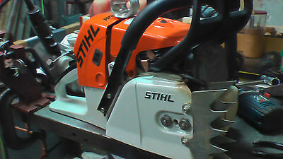 Stihl MS461 copper cooling plate big bore hot saw racing more power laser cut