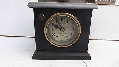 Clocking in clock small & rare with verge escapement movement 2