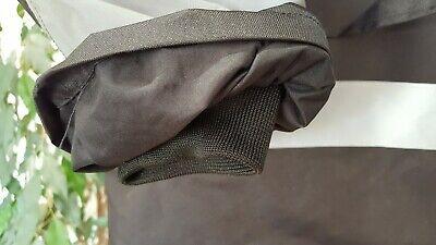 KAPTON Men's HiViz High Visibility Safety Security Coat Black XL RRP £45 6