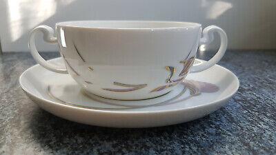 Kaffeetasse mit Untertasse Rosenthal Asimmetria Goldblume//Indian Summer