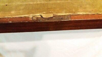 Antique Mahogany Military Campaign English Writing Slope 10
