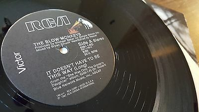 """Blow Monkeys – It Doesnt Have To Be This Way (1987) RCA Victor – 6281-1-RD 12"""" 3"""